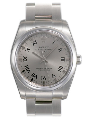 Rolex Air-king Series Mens Automatic Wristwatch 114200-SRO