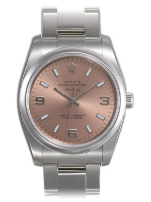 Rolex Air-king Series Mens Automatic Wristwatch 114200-PASO