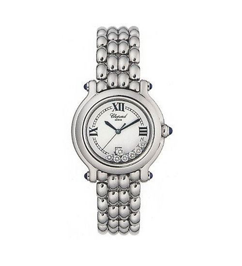 Chopard Happy Sport Series Ladies Diamond Watch 288965-23W