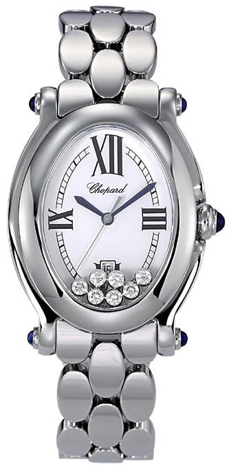 Chopard Happy Sport Series Oval Ladies Swiss Quartz Wristwatch 278418-23