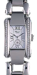 Chopard La Strada Series Diamond Steel White Ladies Swiss Quartz Watch 418415