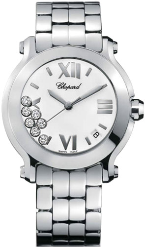 Chopard Happy Sport Series Ladies Swiss Quartz Watch 278477-3001