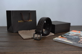 Bottega Veneta Intrecciato Nappa Belt 274484 Brown