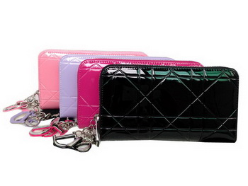 Dior Escapade Wallet in Patent Leahter D2012
