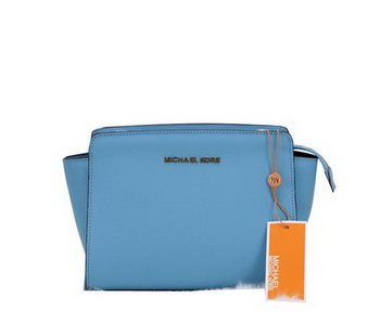 Michael Kors Mini Selma Messenger Bag MK1869 SkyBlue