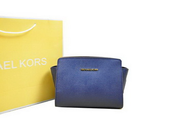 Michael Kors Mini Selma Messenger Bag RoyalBlue