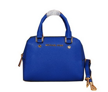 Michael Kors Original Saffiano Leather Top Handle Bag MK2603 Blue