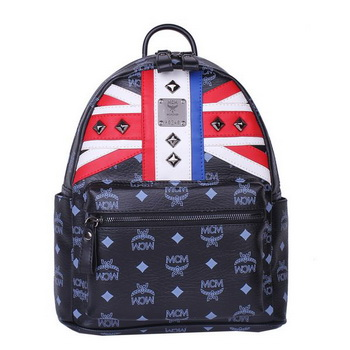 MCM Small Flag of UK Backpack MC5173S Black