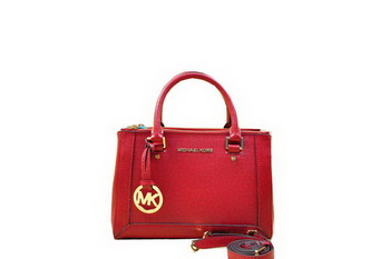 Michael Kors Selma Original Saffiano Leather Tote Bag MK1993 Red