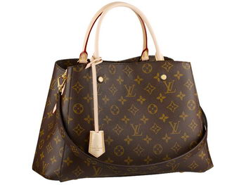 Louis Vuitton M41056 Monogram Canvas Montaigne MM
