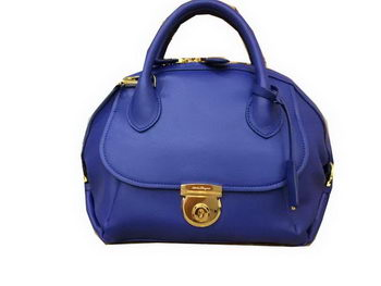 Ferragamo Medium Tote Bag Calfskin Leather SF0612 Blue