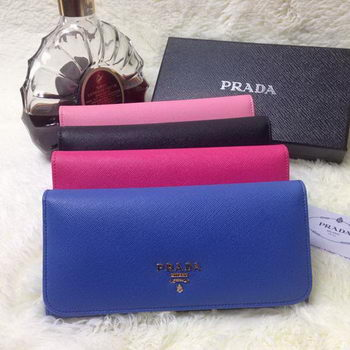 Prada Saffiano Calf Leather Wallet 1M1132
