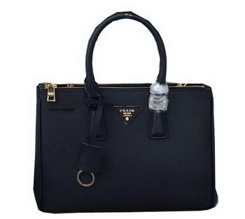 Prada Saffiano Leather Tote Bag PBN1801 Black