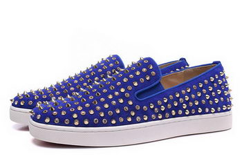 Christian Louboutin Casual Shoes CL914 Blue
