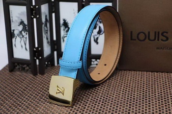 Louis Vuitton Belt LV1939 SkyBlue