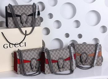 Gucci Dionysus GG Supreme Shoulder Bag 400249