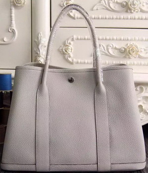 Hermes Garden Party 36cm 30cm Tote Bag Original Leather OffWhite