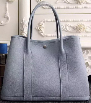 Hermes Garden Party 36cm 30cm Tote Bag Original Leather SkyBlue
