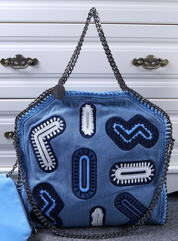 Stella McCartney Denim Tote Bag SM809 Blue