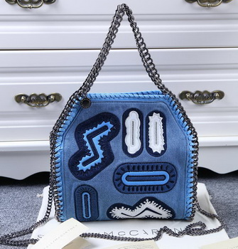 Stella McCartney Falabella Denim Bag SMC8863 Blue