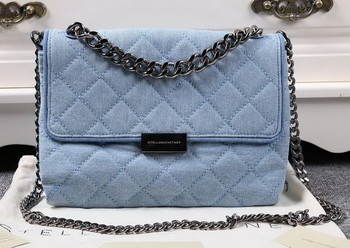 Stella McCartney QUilted Denim Cross Body Bags SMC016 Blue