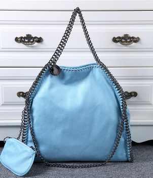 Stella McCartney Denim Tote Bag SM809 Light Blue