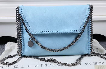 Stella McCartney Falabella PVC Cross Body Bags SM875 Light Blue
