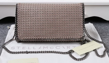 Stella McCartney Falabella PVC Cross Body Bags SM829T Khaki