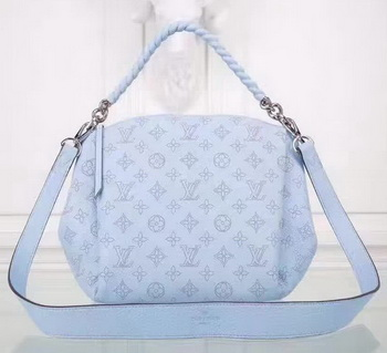 Louis Vuitton Mahina Leather BABYLONE CHAIN BB Bag M51223 Blue