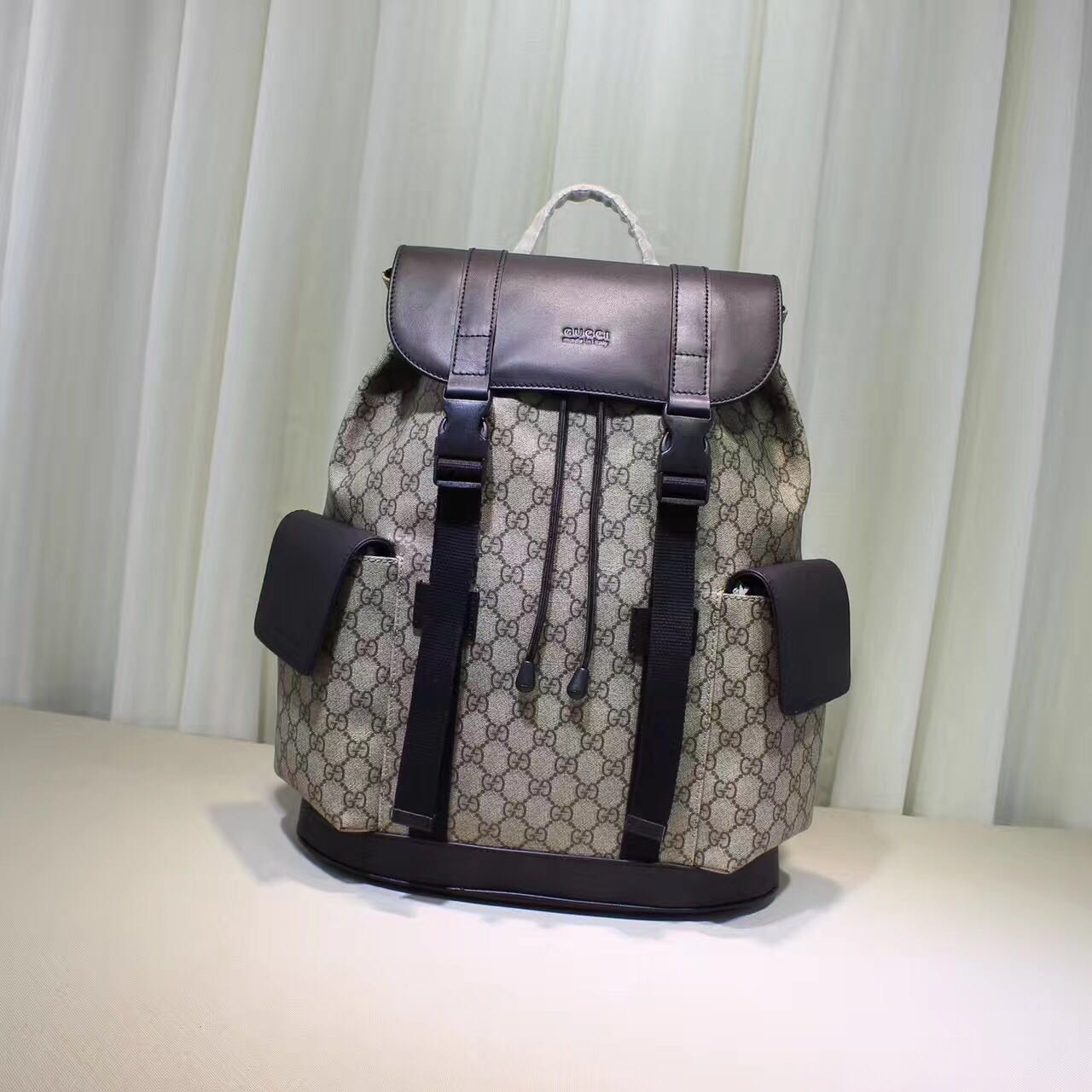 Gucci GG Canvas Backpack 17047