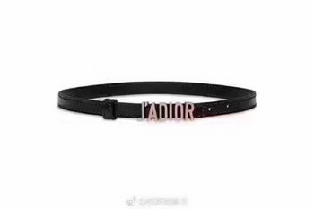 Dior 30mm Leather Belt CD2366 Black