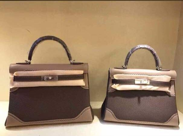 Hermes Kelly 32cm/28cm Tote Bag TOGO Leather KY28 gary