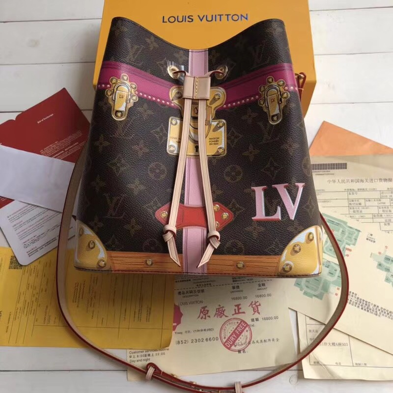 Louis vuitton monogram canvas original bag neonoe M60649