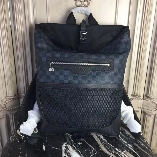 Louis vuitton original Monogram Damier Ebene MATCHPOINT BACKPACK 40009
