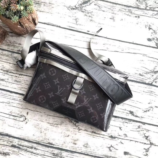 Louis vuitton original MESSENGER PM M52218 black