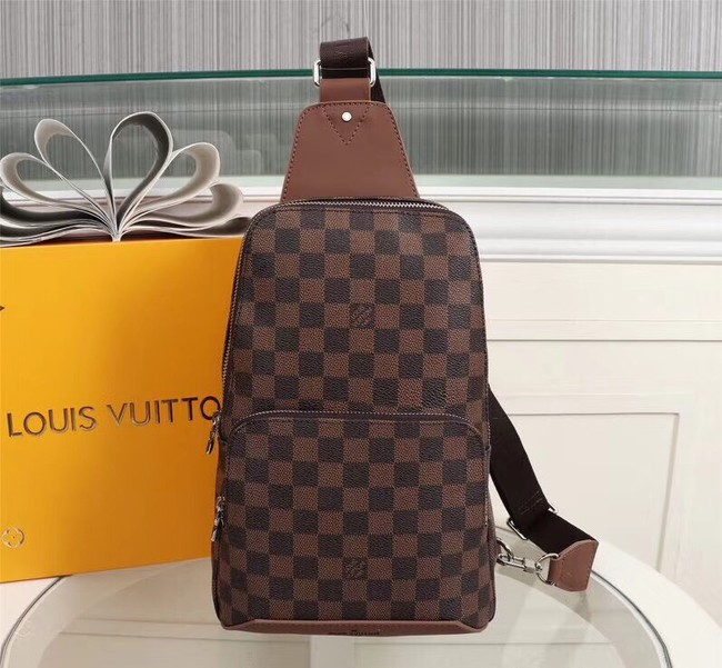 Louis Vuitton AVENUE SLING BAG N42425 brown