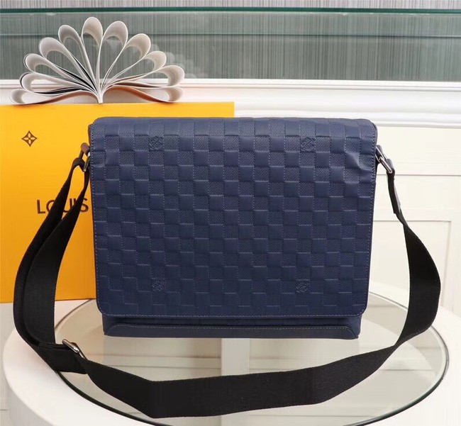 Louis Vuitton DISTRICT PM N41038 blue