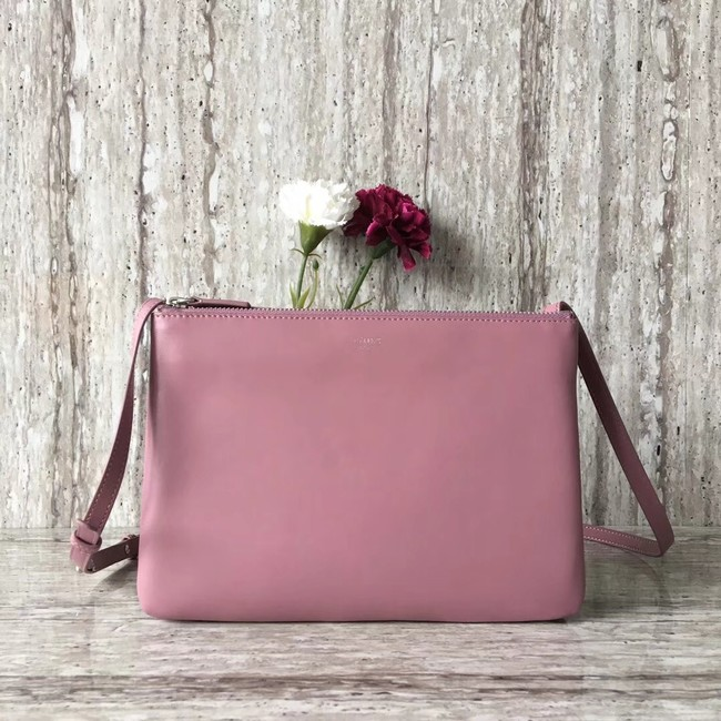 Celine Original Leather Shoulder Bag 55421 pink