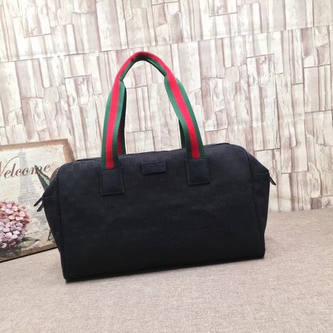 Gucci GG Supreme canvas Travelling bag 146310 black