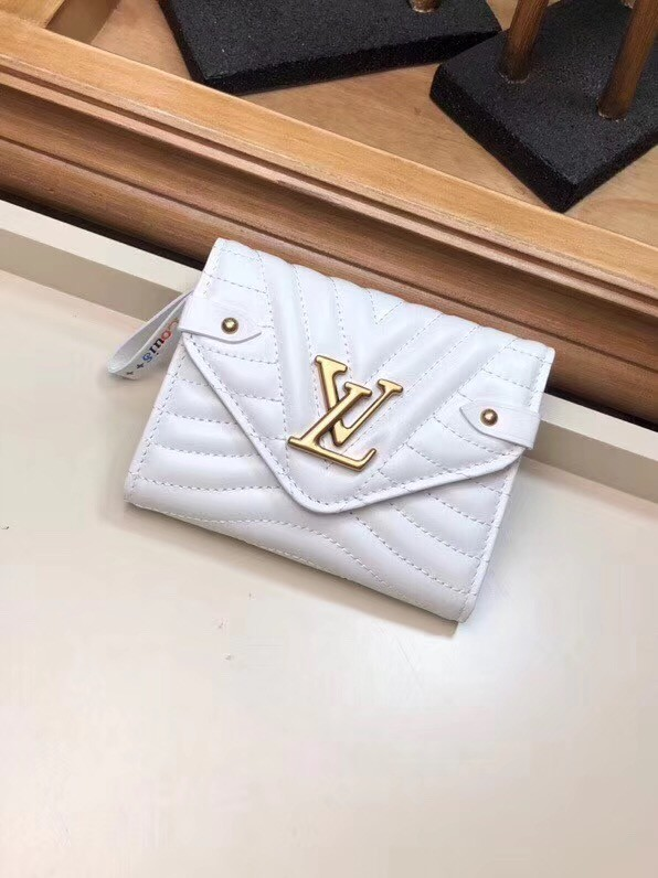 LOUIS VUITTON NEW WAVE COMPACT WALLET M63427 white