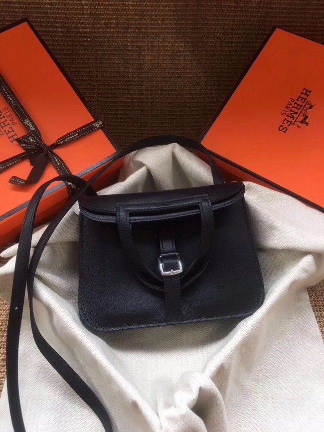 Hermes Original Halzan mini bag H069523 black