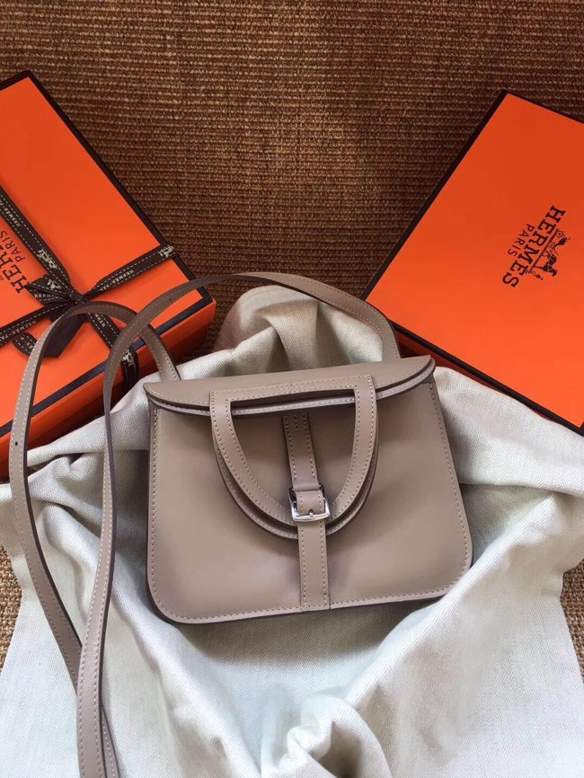 Hermes Original Halzan mini bag H069523 grey