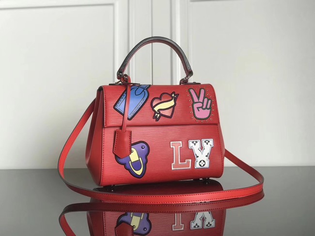 Louis Vuitton original Epi Leather CLUNY BB M52484 red