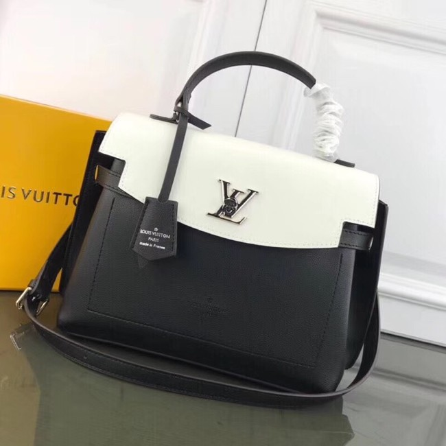 Louis Vuitton LOCKME EVER M51395 black&white