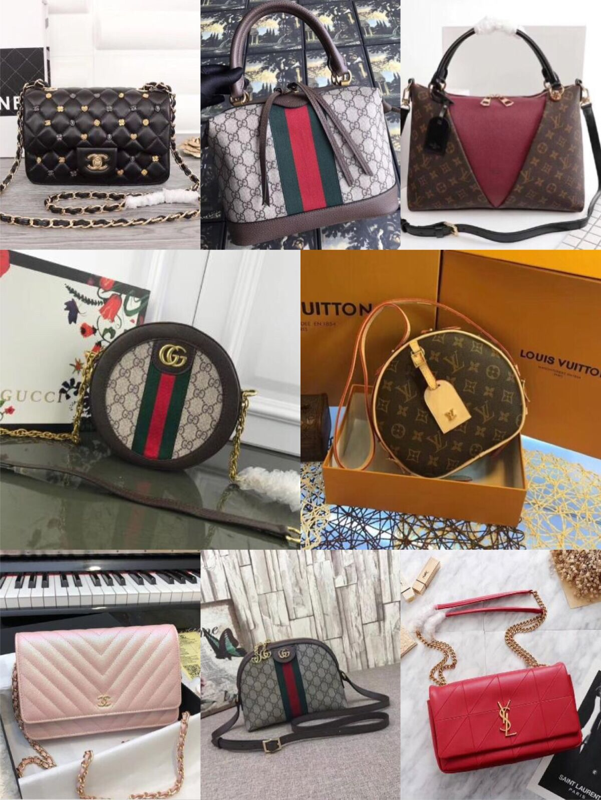 XMAS Gifts Order Amount Over 1000USD Free Gift(Choose one of handbag on our on sale list)