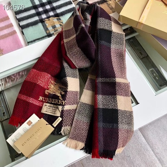 Burberry lambswool & cashmere scarf 71152