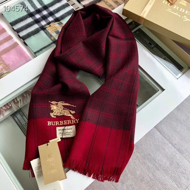 Burberry lambswool & cashmere scarf 71154