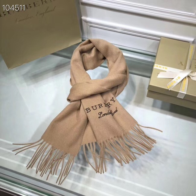 Burberry lambswool & cashmere scarf 71156 Camel