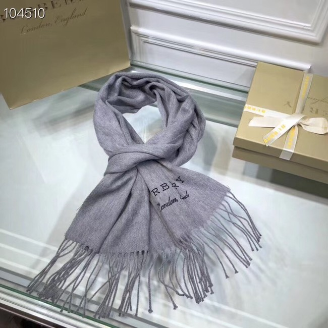 Burberry lambswool & cashmere scarf  71156 grey