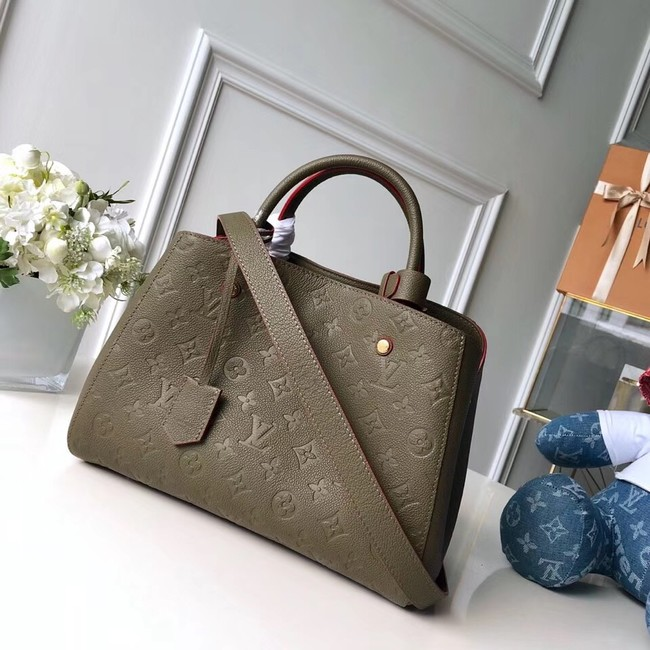 Louis vuitton original MONTAIGNE MM M44311 green